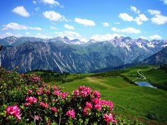 Wanderurlaub in Oberstdorf in den Allgäuer Alpen                                                                                                                                                                                 Mehr