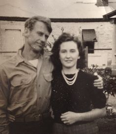 A photo of Dick Ebbeson and Rae Venning Ebbeson