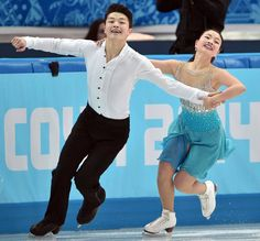 The future of ice dancing. Love them.