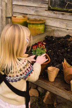 Five easy gardening jobs to do with children. Perfect activities for the Spring Garden. Get kids away from screens and into.