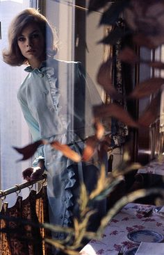 Jean Shrimpton, photo by David Bailey, New York City, 196