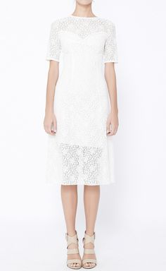 Nina Ricci White Dress