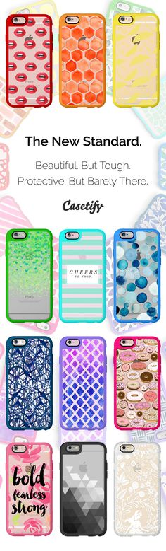 The New Standard phone case is launched! Beautiful. But tough. Only available for the iPhone 6s/6s+. Build yours now: http://www.casetify.com/iphone6s