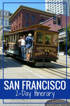 Two perfect days in San Francisco. Visit the Golden Gate Bridge, see Alcatraz, and other tips for a short trip to SF. #sanfrancisco #california