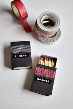 Pieni Lintu: Washi tape Fun