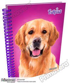 Cuaderno 105 5 y 7 Materias Puppies http://escolar.papelesprimavera.com/product/cuaderno-105-5-y-7-materias-puppies-primavera/