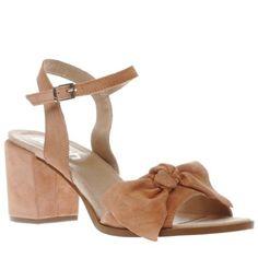 womens schuh peach glow low heels