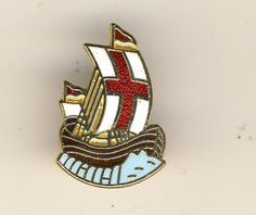 GIRL GUIDE COUNTY PIN BADGE BRITISH GUIDES OVERSEAS ABROAD SCARCE ISSUE RED FLAG   eBay