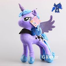 "15"" Princess Luna Nightmare Moon My Little Pony Plush Stuffed Animal Toy - New"