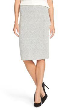Halogen® Sweater Knit Pencil Skirt (Regular & Petite)