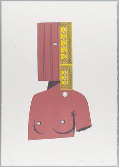 EDUARDO ARROYO. 57. La Venus de Milo. 1995. Suite Senefelder. Litografía (3 colores). | Photosai Gallery