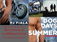 Dog Days of Summer by PJ Fiala.  This truly is a romance of a different kind.  Little drama.  Follow Jeremiah (Dog) Sheppard and Jocelyn (Joci) James as they find each other and fall in love while dealing with the tortures of life.  myBook.to/DogDaysofSummer