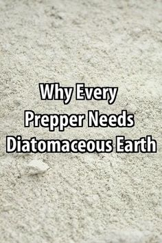 Diatomaceous earth kills critters in your food and around the house, it has many health benefits, it's cost-effective, and it's 100% natural.