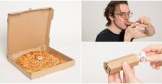 Pizza box turns into a bong