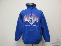 66f16cb9e Vtg 90s Trench New York Giants Hoodie Hoody Sweatshirt sz XL Extra Large  NFL  Trench  NewYorkGiants  tcpkickz