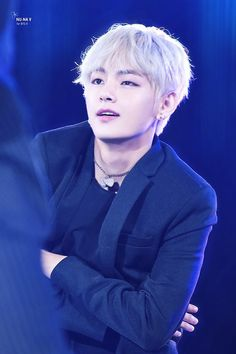 Taehyung on stage