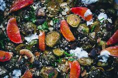 Green Kitchen Stories » Happy Holidays Brussels Sprout Salad