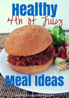 Healthy 4th of July Meal Ideas