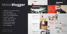Download and review of MisterBlogger - Blog/Magazine WordPress Theme, one of the best Themeforest Magazine & Blogs themes {Download & review at|Review and download at} {|-> }http://best-wordpress-theme.net/misterger-magazine-download-review/