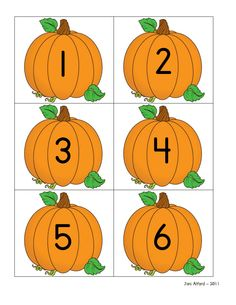 Pumpkins (ordering numbers)