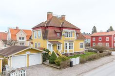 House in Gävle, Sweden, built in 1915.