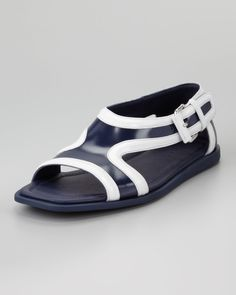 Prada Runway Leather Sandal From SS13