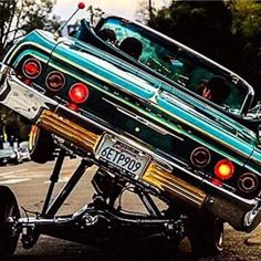 Just a lil lean if you know what I mean Chevrolet Impala, Chevelle Ss, Chevy Camaro, 64 Impala Lowrider, Lowrider Hydraulics, Hydraulic Cars, Lo Rider, Car Posters, Ride Or Die