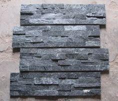 Grey Stone Backsplash Kitchen nice stacked stone tile backsplash …   pinteres…