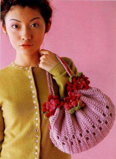 Pretty Crochet Bag: charts