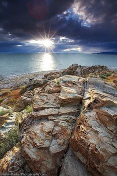 Enjoy nature and take a hike on Antelope Island, just a short drive from downtown Ogden, Utah