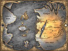 LEIGH BARDUGO : Grisha Map