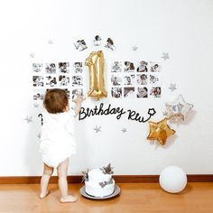 Simple 1st Birthday Party Boy, Boys First Birthday Party Ideas, One Year Birthday, Baby Boy First Birthday, Boy Birthday Parties, 1st Birthday Pictures, First Birthday Decorations Boy, 1st Birthday Photoshoot, Foto Baby