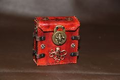Leather Steampunk Pouch by AverusX