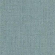Brewster 2623-001112 Fintex Teal Woven Texture Wallpaper