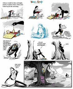 Harper Lee Tribute by Berkeley Breathed Bill The Cat, Berkeley Breathed, Harper Lee, Word Nerd, Cartoon Memes, American Comics, Calvin And Hobbes, Political Cartoons, Comic Strips