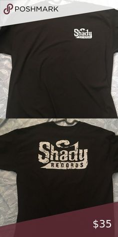Shady VS Everybody Baseball T Shirt Eminem Slaughterhouse Aftermath Multi Color