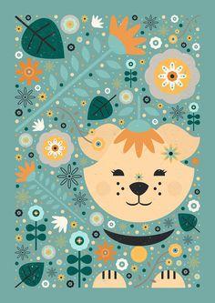 Carly Watts Art & Illustration: Petal Puppy