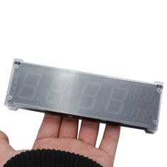 1.2 Inch LED Digital Clock Electronic Alarm Clock With Temperature