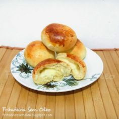 Pão de Batata na AirFryer - Fritadeira sem Óleo - AirFryer Air Fry Recipes, Healthy Recipes, Caramel Apples, Slow Cooker Recipes, Fries, Food Porn, Food And Drink, Favorite Recipes, Bread