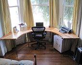 Bay window office