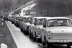 Exodus from East Berlin, November 1989