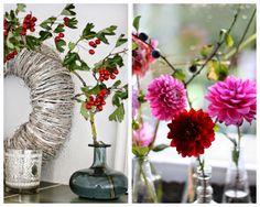 Pomponetti: Herbstblumendeko und DIY Gesteck