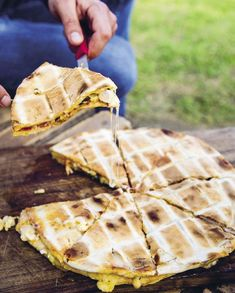 South African Recipes, Ethnic Recipes, Pizza Sandwich, Perfect Pizza, Cravings, Waffles, Sandwiches, Kos, Breakfast