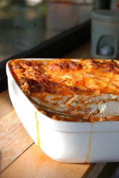 lasagnes au potiron & fromage de chèvre