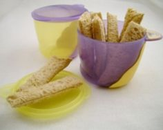 Homemade Teething Rusks Recipe - Baby  Made with whole meal bread