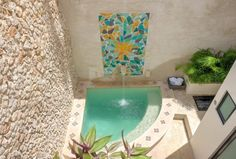 Pin by Jocelaine Silva on Design de Interior e Exterior Small Swimming Pools, Small Backyard Pools, Backyard Pool Designs, Small Pools, Swimming Pools Backyard, Kleiner Pool Design, Model House Plan, Small Pool Design, Mini Pool
