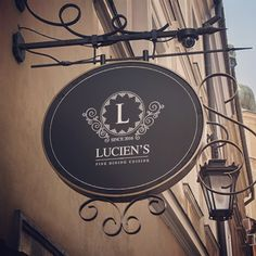 "New logo & branding style for ""Lucien's"". A family run fine dining restaurant in Weybridge, Surrey. Designed & Developed the site too which you can see at www.luciensrestaurant.co.uk #restaurant #branding #luciens #fine #dining #finedining #logodesign #logo #design #graphics #fx #sign #family #weybridge #surrey #aimvision"