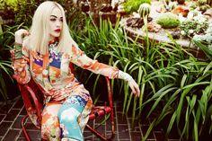 Rita Ora for InStyle UK April 2015 - GUCCI Spring 2015