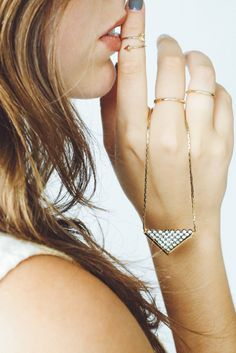 Sunday bliss Style | Necklace | Rings