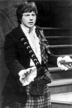 James Robert 'Jamie' McCrimmon (Frazer Hines). A piper of the Clan McLaren who lived in 18th century Scotland, he was a companion of the Second Doctor {Patrick Troughton, 1966-1969}. The spelling of his surname varies from one script to another; it is alternately rendered as Macrimmon and McCrimmond. Frazer Hines played Jamie in 116 episodes, more than any other companion.